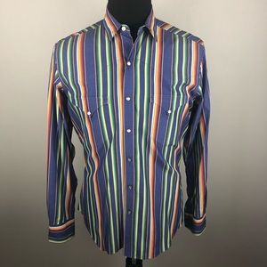 Polo by Ralph Lauren Shirts - Polo by Ralph Lauren Western Pearl Snap Shirt M